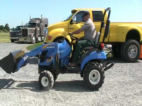 New Holland T1010 Compact Tractor