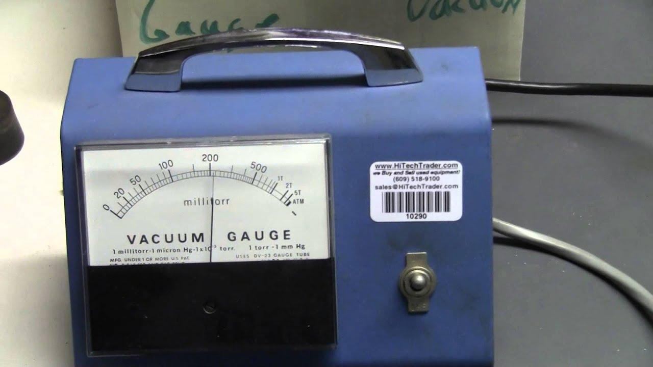 Welch Vacuum Gauge millitorr