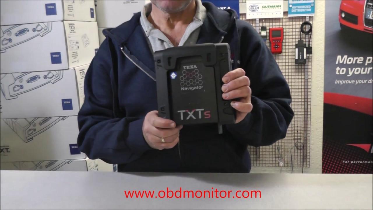 TEXA Navigator TXTs Diagnostic tool