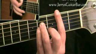 How To Play Neil Young Comes a Time (intro only)
