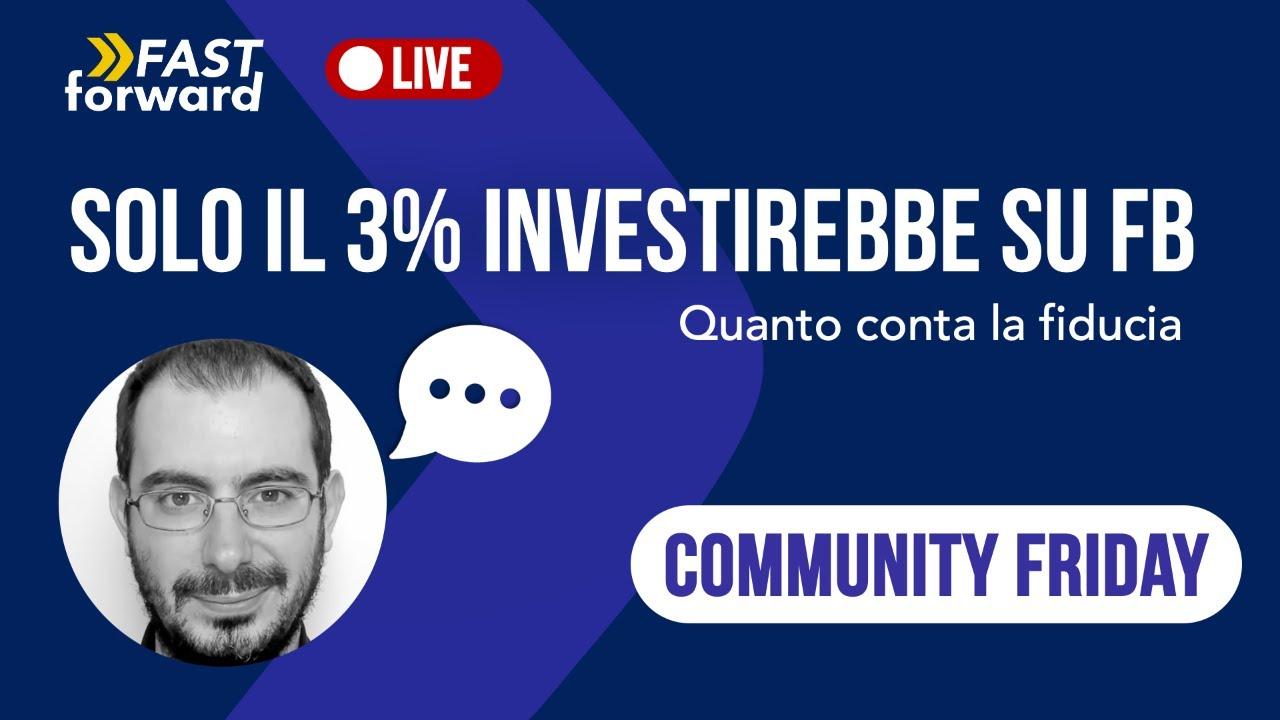 Solo il 3% Investirebbe su Facebook!