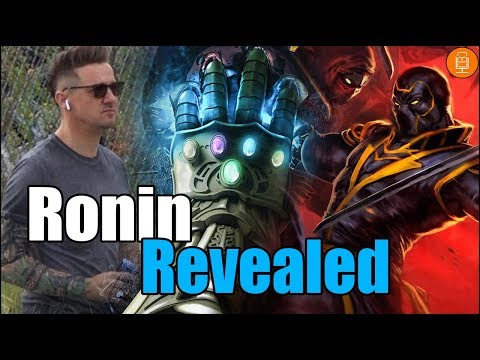 Hawkeyes NEW Ronin Look Revealed for Avengers 4