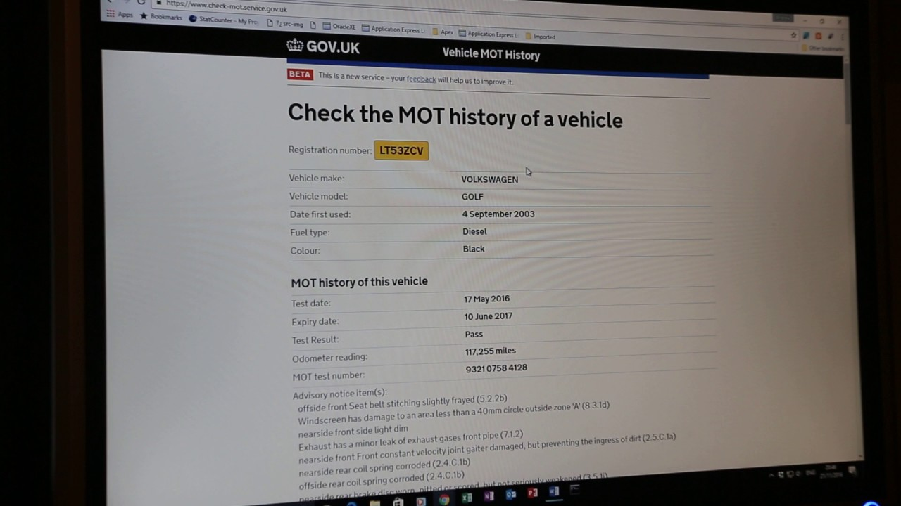Free Mot History Car Check Find If Your Has Been Clocked Vehicle And Mileage Checker Uk