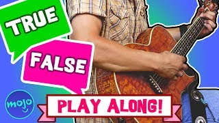 True or False - Test Your GUITAR Knowledge