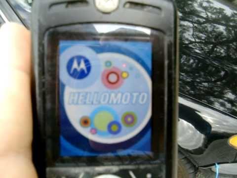 Destruction of a Motorola SLVR (part one)