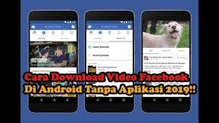 Download lagu Cara Download Video Facebook Terbaru Di Android Paling Mudah Tanpa Aplikasi 2019