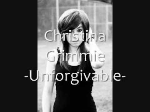 Christina Grimmie -Unforgivable- Lyrics(in description box)