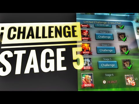 Lords Mobile - Limited Challenge Stage 5