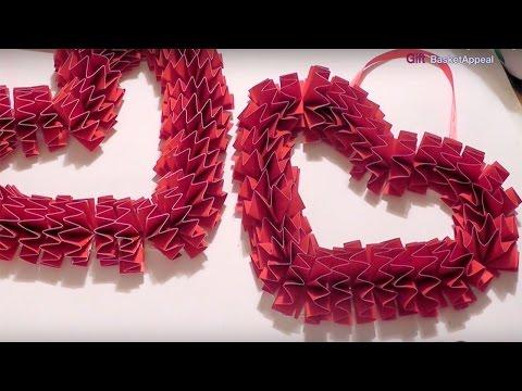 DIY Valentine's Day Wreath - Craft Idea