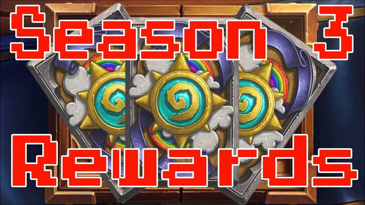Hearthstone Season Rewards