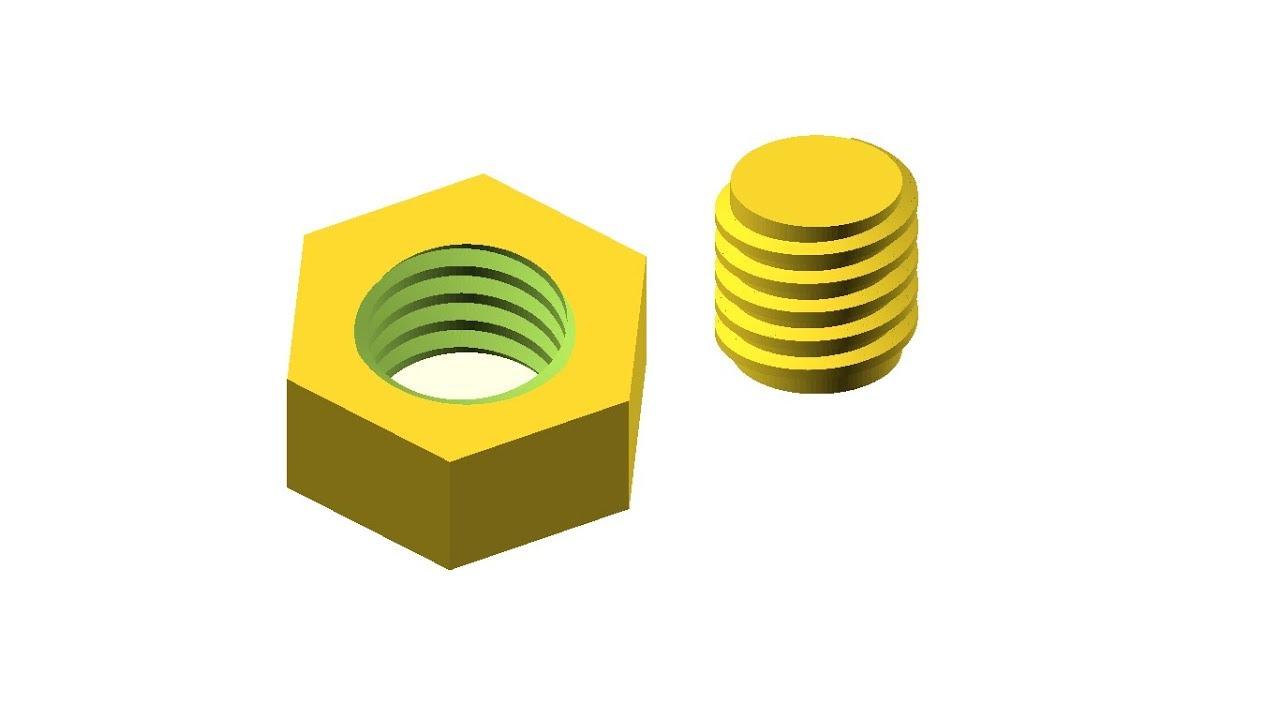 OpenScad (3D модель