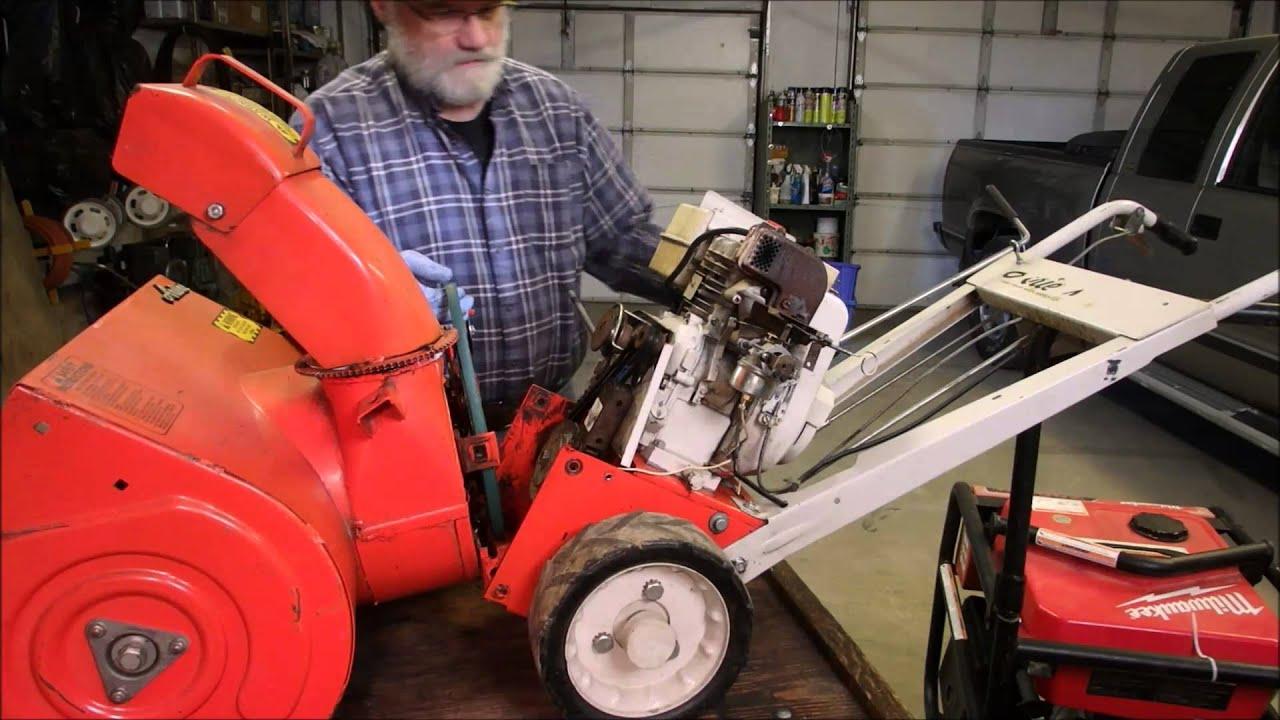 4hp ariens snowblower belts youtube Ariens ST824 Snowblower Parts Diagram 4hp ariens snowblower belts