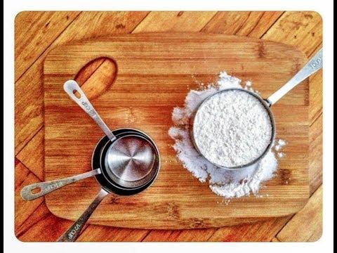 Baking Measuring 101 tutorial