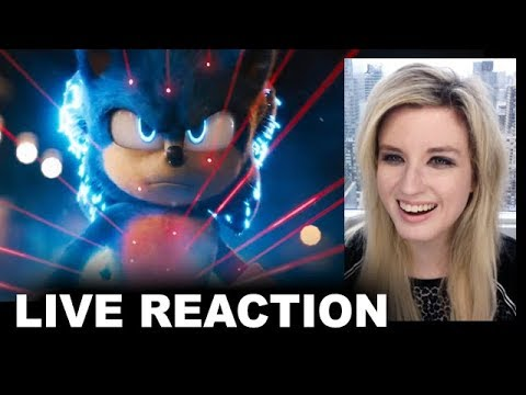 Sonic the Hedgehog Movie Trailer 2 REACTION