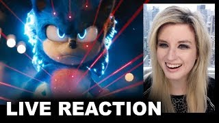 Sonic the Hedgehog Movie Trailer 2 REACTION