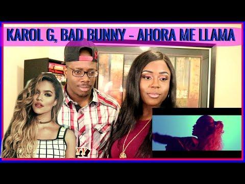 Karol G, Bad Bunny - Ahora Me Llama | BEECHER DYNASTY REACTS