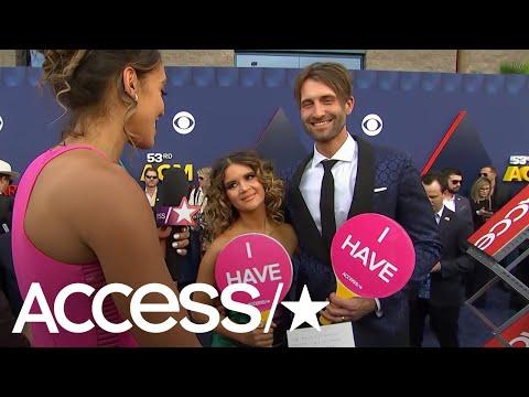 ACM Awards 2018: Maren Morris & Ryan Hurd Play Newlywed Never Have I Ever! | Access