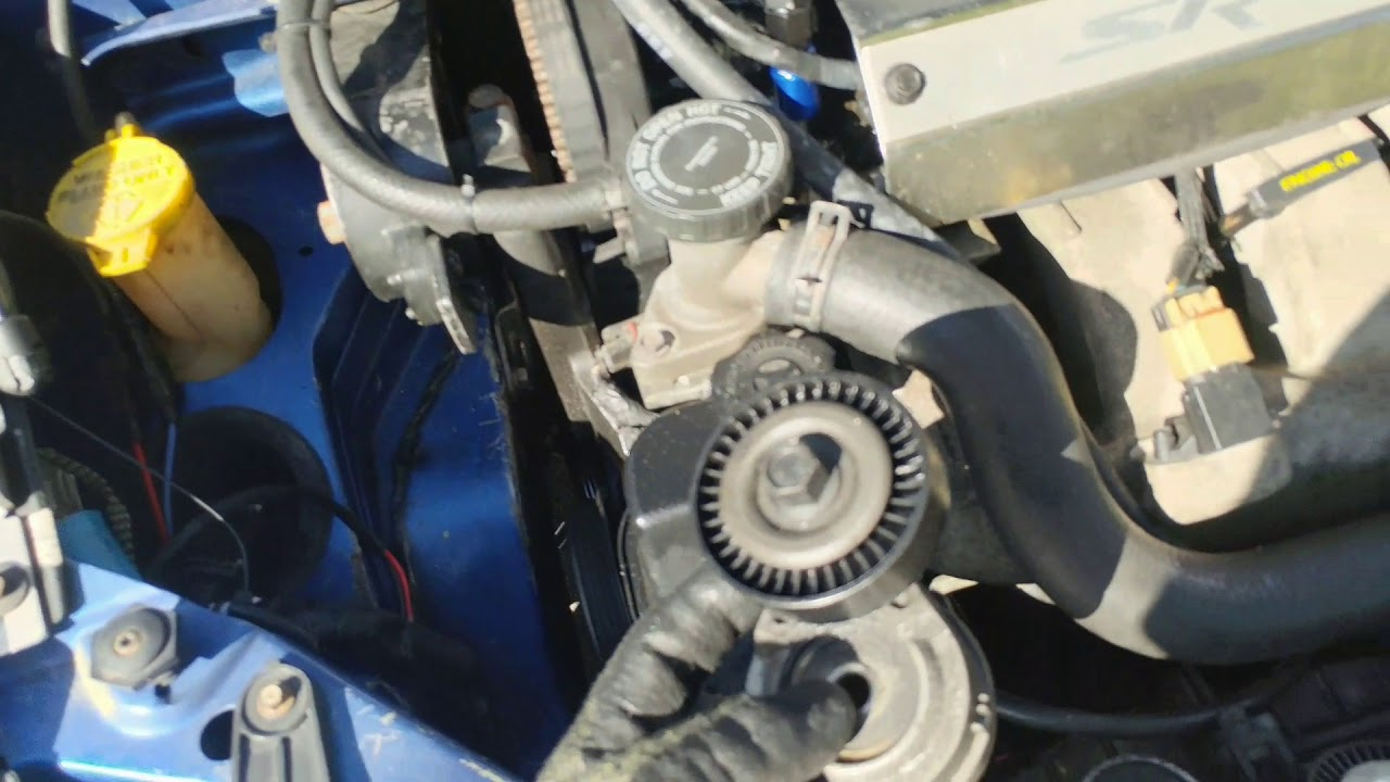 small resolution of how to install srt 4 serpentine belt tensioner
