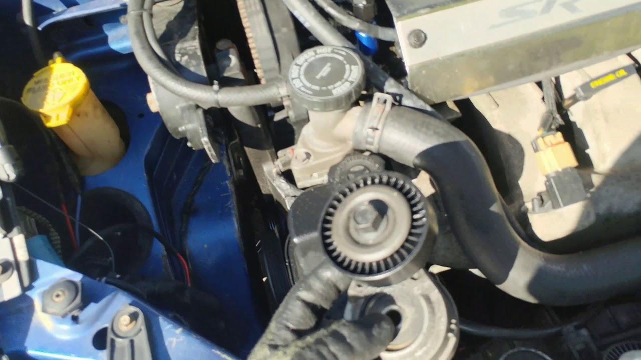 hight resolution of how to install srt 4 serpentine belt tensioner