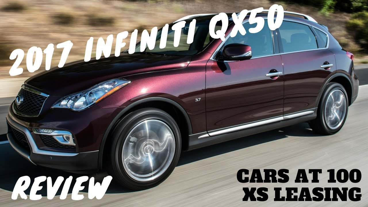 2017 Infiniti Qx50 Review Practical Small Suv With