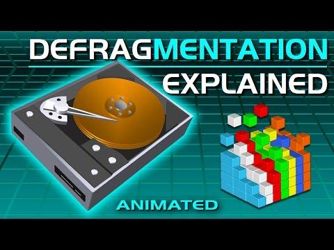 Disk Defragmentation Explained - Defrag Hard Drive - Speed Up PC