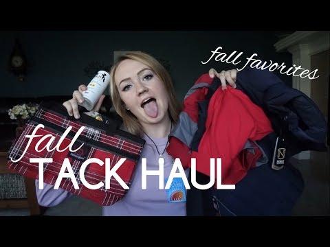 Fall Tack Haul // Equestrian Fall Favs