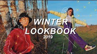 WINTER LOOKBOOK 2019 - STREETWEAR OUTFIT IDEAS