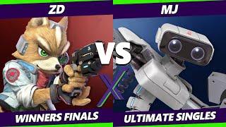 S@X 411 Winners Finals - Mj (ROB) Vs. ZD (Wolf, Fox) Smash Ultimate - SSBU