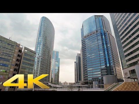 Walking around Shinagawa, Tokyo - Long Take【東京・品川】 4K