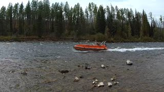 Тыва# Серлиг- Хем# Пороги# Рыбалка на хариуса#