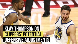 Klay Thompson expects Clippers to make defensive adjustments