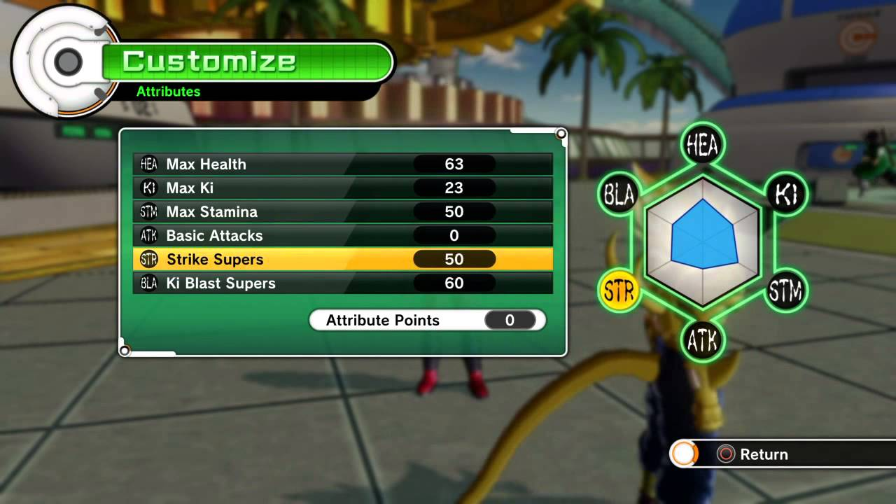 Best Basic Attack Build Xenoverse