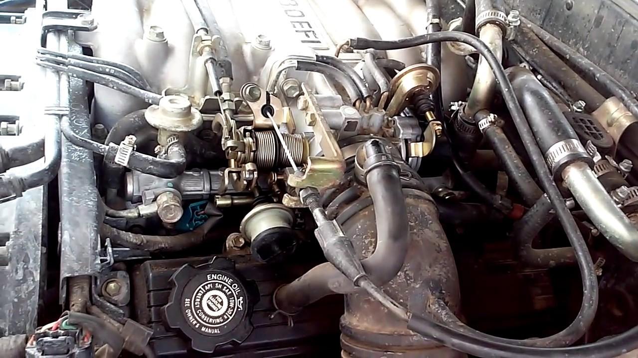 Jeep Cj7 Wiring Harness Diagram Network Interface Device 1995 Toyota 4runner(tps) Throttle Position Sensor - Youtube