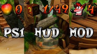 """Original PS1 HUD"" - Crash Bandicoot N.Sane Trilogy MOD #4"