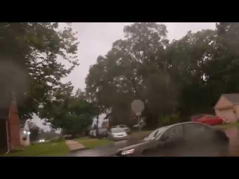 Detroit Metro Area Flooding (Warren, MI) - 08/11/14