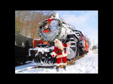 Santa Claus Is Coming In A Boogie-Woogie Choo-Choo Train by the Tractors