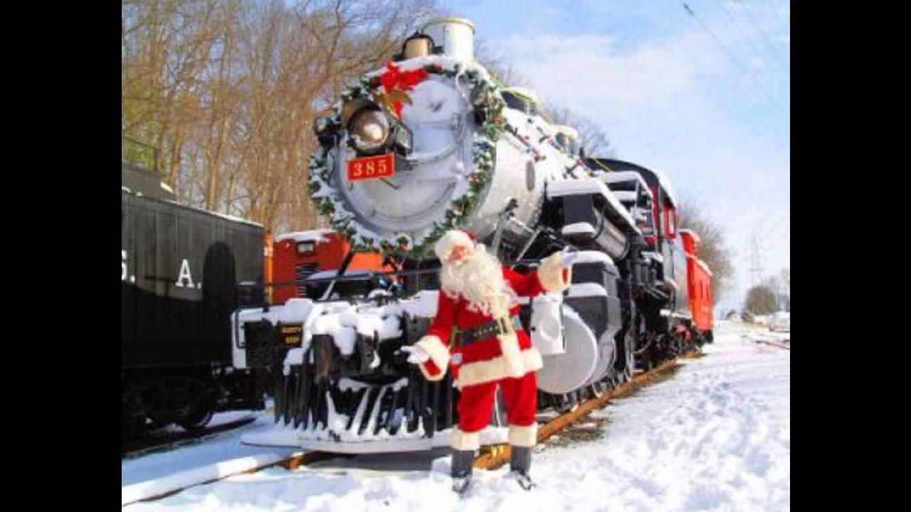 Santa Claus Is Coming In A Boogie Woogie Choo Choo Train