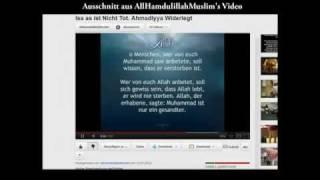 Dreiste LÜGE der Anti-Ahmadiyya ÜBER JESUS HADITH