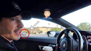 homepage tile video photo for Cops Won't Leave My Lamborghini Alone...