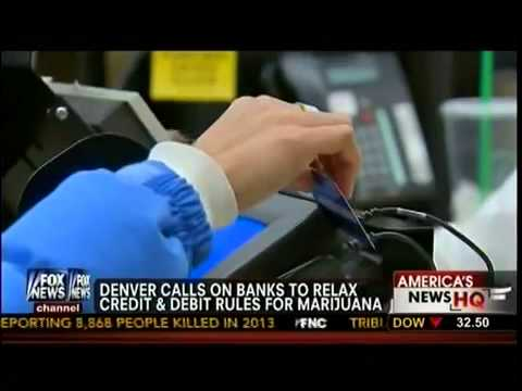 Denver Calls On Banks To Relax Credit & Debit Rules For Marijuana   America's News HQ   YouTube