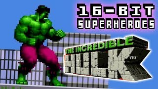 16-bit Superheroes: The Incredible Hulk (SNES) - Electric Playground Review