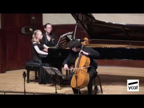 Jamal Aliyev, Maria Tarasewicz; Shostakovich Cello Sonata in D minor Op. 40