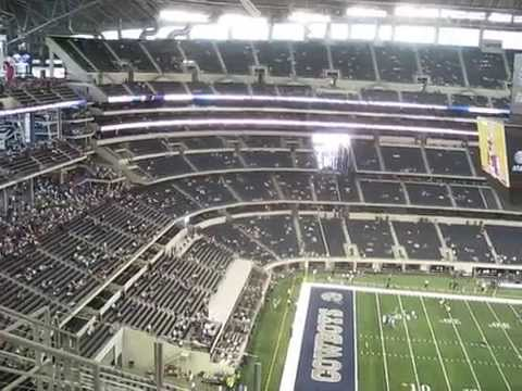 Dallas Cowboys Party Pass Area From Up Above So