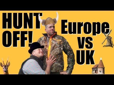 Fieldsports Britain - 'Hunt Off' - UK vs The Continentals (episode 188)