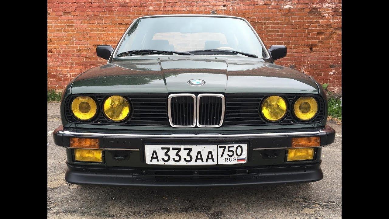 БМВ Е30 ремонт подвески, кулисы КПП, новые колеса | Восстановление BMW E30
