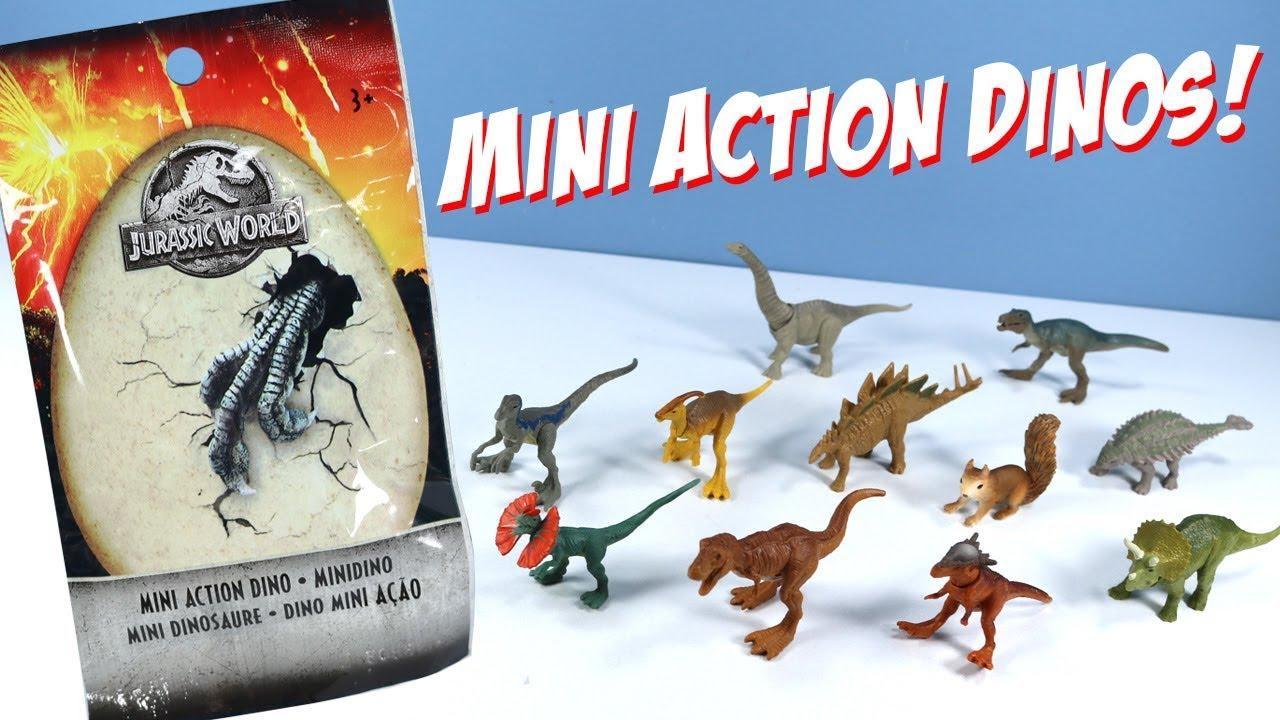 Jurassic World 2 Mini Action Dinos indominus Rex indoraptor...