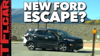 The New 2019 Ford Escape Spied In The Wild