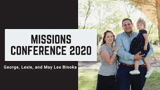 Missions Conference 2020-Sunday AM George Benoka 9.20.20