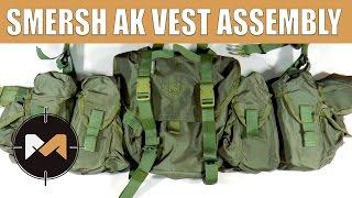 Збірка РПС СМЕРШ АК. Russian SMERSH AK vest assembly.