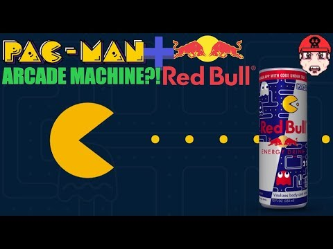 Special PAC-MAN + Red Bull Arcade Machine?!? Exclusive Game/Cooler Hybrid - First Impressions